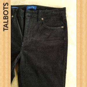 Talbots Women's Corduroy Pants in color Black
